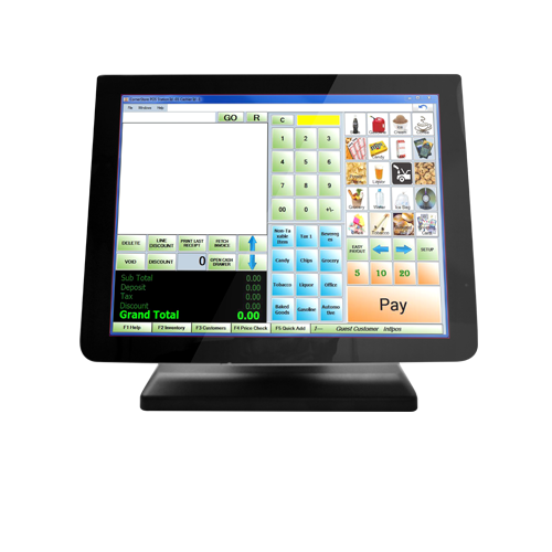 Touch Screen Monitor for a POS System